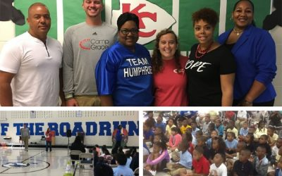 Camp Grace visits Humphries Elementary
